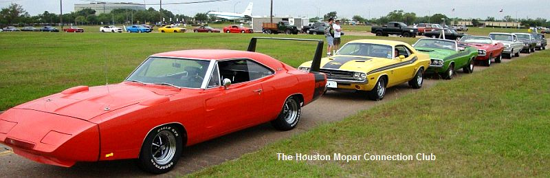 Houston mopar connection club previous activities review for Classic motor cars of ellington